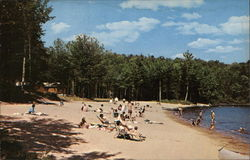 The Beach at Limekiln Lake Campsite