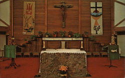 Altar of Holy Family Church