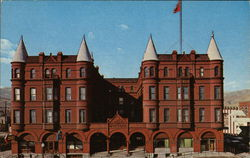 Marcus Daly Hotel - Motel Postcard