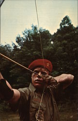 Scout With Bow and Arrow