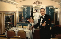 Dining Car, Northern Pacific Railway