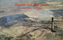 Anaconda Smelter and Stack