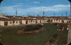 El Rancho Motel Postcard