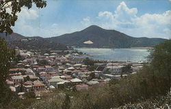 Charlotte Amalie from West Looking towards the Yacht Club