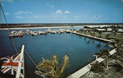 Coral Harbour Hotel and Club - Marina Postcard