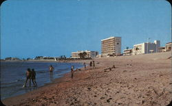 Playa Norte, North Beach Postcard