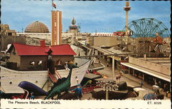 The Pleasure Beach Postcard