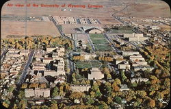 Air view of the University of Wyoming Campus