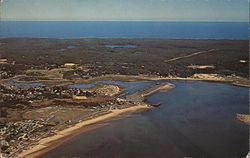 Aerial View of Harbor, Cape Cod