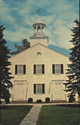 Town Hall, Cape Cod Postcard