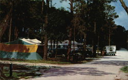 Camping Area, Ft. Pickens State Park