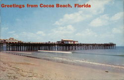 Greetings from Cocoa Beach, Florida