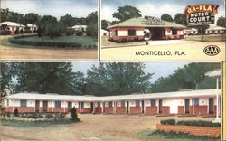 Georgia-Florida Motor Court Postcard