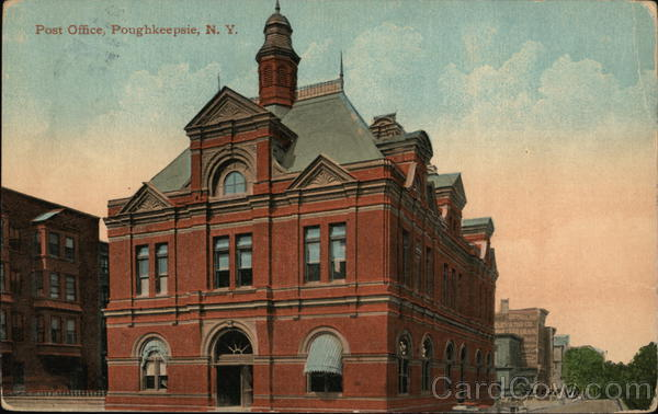 Post Office Building Poughkeepsie New York