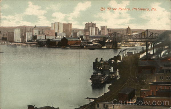 The Three Rivers Pittsburgh Pennsylvania