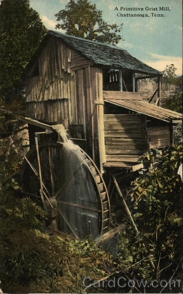 A Primitive Grist Mill Chattanooga Tennessee