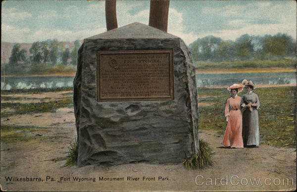 Fort Wyoming Monument River Front Park Wilkes-Barre Pennsylvania