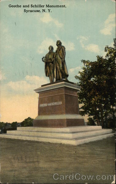 Geothe and Schiller Monument Syracuse New York