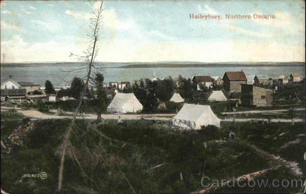 View of Haileybury Canada Ontario