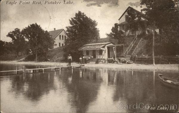 Eagle Point Rest, Pistakee Lake Fox Lake Illinois