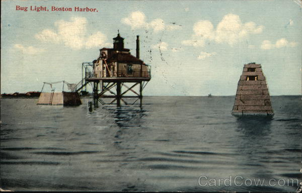 Bug LIght, Boston Harbor Massachusetts