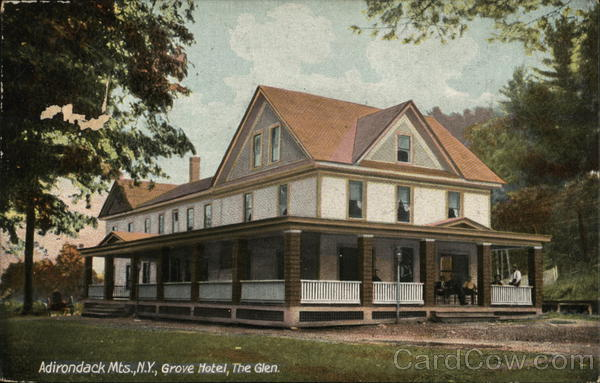 Grove Hotel, The Glen Warrensburg New York