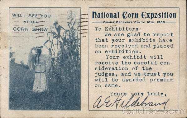 Will I See You At The Corn Show Omaha Nebraska Exposition