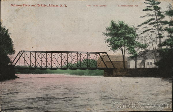 Salmon River and Bridge