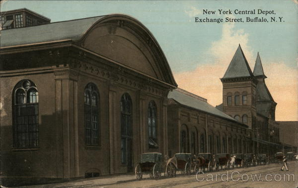 New York Central Depot, Exchange Street Buffalo