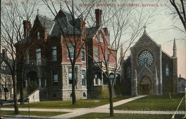 Bishop's Residence and Chapel Buffalo New York