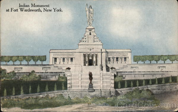 Indian Monument Fort Wadsworth New York