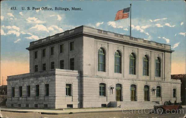 U.S. Post Office Billings Montana