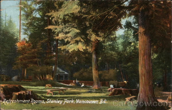 Refreshment Rooms, Stanley park Vancouver Canada British Columbia