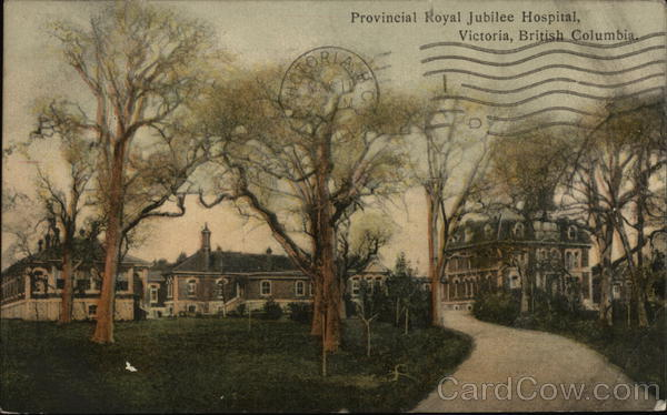 Provincial Royal Jubilee Hospital Victoria Canada British Columbia