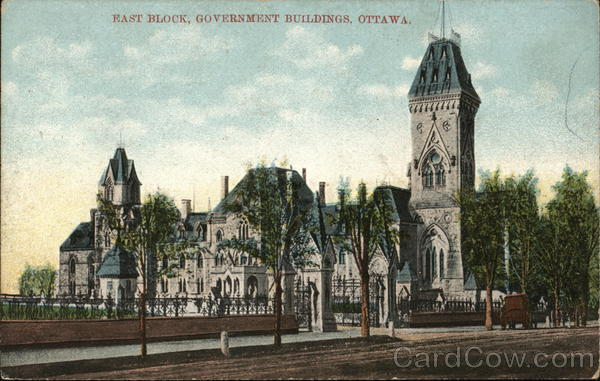 East Block, Government Buildings Ottawa Canada Ontario