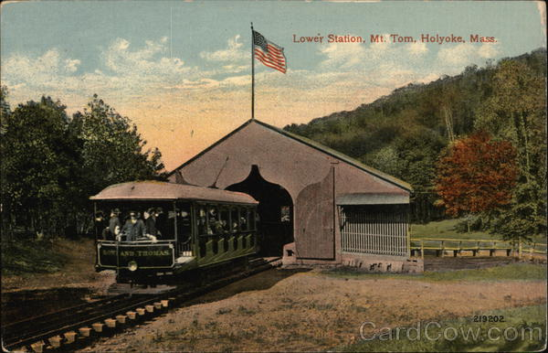 Lower Station, Mt. Tom Holyoke Massachusetts
