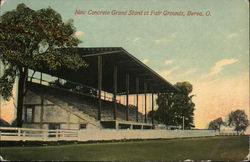 New Concrete Grand Stand at Fair Grounds
