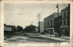 Market Street, One Year After the Fire of June 23, 1907
