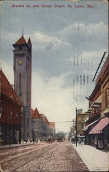 Market St. and Union Depot