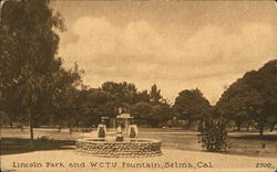 Lincoln Park and W.C.T.U. Fountain
