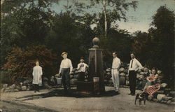 The Pump at Edgewood Park Postcard