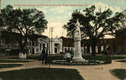 Monument Square and Decatur County Bank