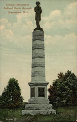 Colonial Monument at Guilford Battle Ground