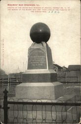 Monument Erected by United Mine Workers of America