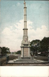 View of Confederate Monument