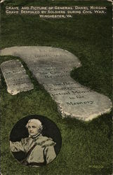 Grave and Picture of General Daniel Morgan