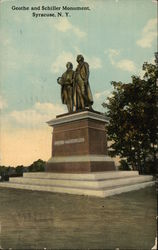 Geothe and Schiller Monument