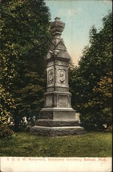 Ancient Order of United Workmen Monument