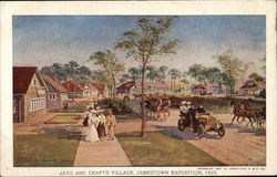 Arts and Crafts Village, Jamestown Exposition 1907