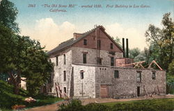 """The Old Stone Mill"" - Erected 1850"